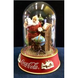 "Coca-Cola Limited Edition ""Making A List"" Globe , Please Pause Here , Sculp no: cp3373"