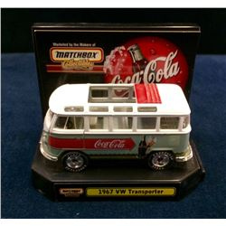 Coca-Cola 1967 VW Transporter - Mtchbox Collectibles