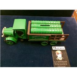 Official Kenworth Trucks, Quaker State Motor Oils City , Pennsylvania Metal BankToy in 5 Pieces set