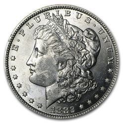 1882-O  Morgan Dollar BU MS-63