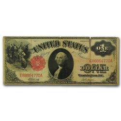 1917 $1.00 Legal Tender Washington Fine
