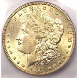 1891-CC Morgan Dollar MS-63