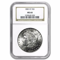 1883-CC Morgan Dollar MS-64 NGC