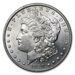 1880-S  Morgan Dollar BU MS-63