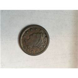 1847 Braided Hair Large Cent