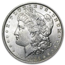 1886 Morgan Dollar BU MS-63