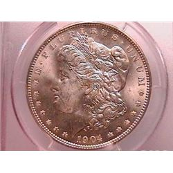 1904-O Morgan Dollar Ch MS64 PCGS