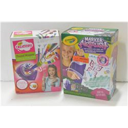 CRAYOLA AIRBRUSH & THREAD WRAPPER KITS