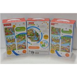 3 FISHER PRICE JIGSAW PUZZLES