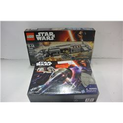 STAR WARS TOY & STAR WARS LEGO SET