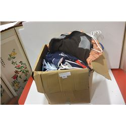 BOX OF MENS DESIGNER GOLF SHIRTS