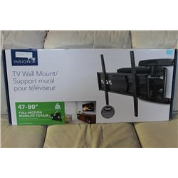 47-80  FULL MOTION TV WALL MOUNT (COMPLETE)