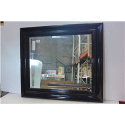 FRAMED BEVELLED WALL MIRROR
