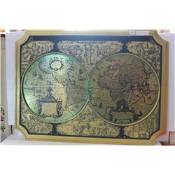 LARGE DECORATIVE MAP