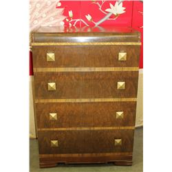 WATERFALL HIGHBOY DRESSER