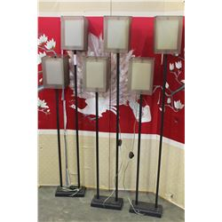 3 DESIGNER FLOOR LAMPS