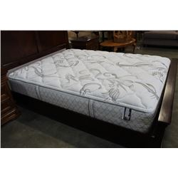 SERTA NO FLIP QUEEN SIZE MATRESS & BOXSPRING