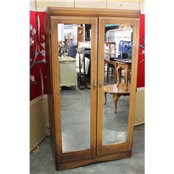 SOUTHERN FURNITURE MIRRORED WARDROBE