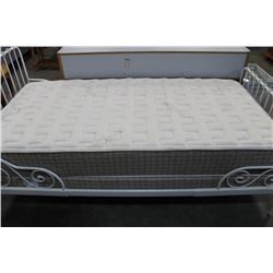ORGANIC COTTON SINGLE SIZE MATTRESS W/BOX SPRING