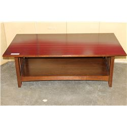 2 TIER COFFEE TABLE