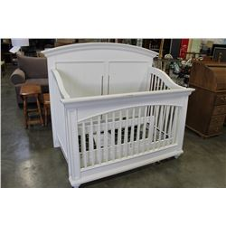 WHITE YOUNG AMERICA BABY CRIB