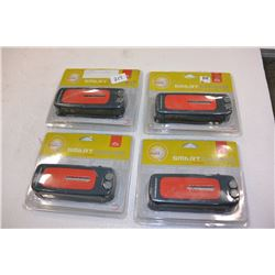 FOUR NEW HAND CRANK AM/FM RADIOS