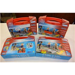 4 PLAYMOBIL SETS