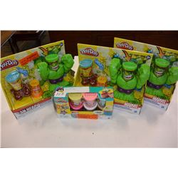 4 PLAY-DOH SETS