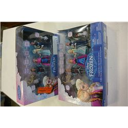 2 DISNEY FROZEN STORY SETS