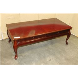 QUEEN ANNE LEG COFFEE TABLE