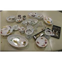 LOT OF ROYAL WORCESTER EVESHAM ACCESSORY PIECES