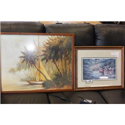 BEACHSCAPE PICTURE & LIMITED EDITION CHRISTINE WILSON