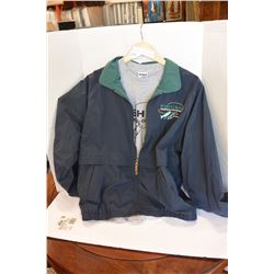 CRESTED JACKET + 2 T-SHIRTS. CREW GEAR FROM FISHING