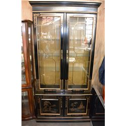 2 DOOR EASTERN ILLUMINATED CABINET