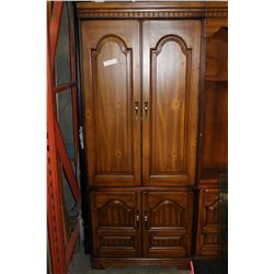 TWO DOOR TALL BAR CABINET
