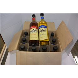 BOX OF DAVINCI SUGAR FREE PINEAPPLE SYRUP
