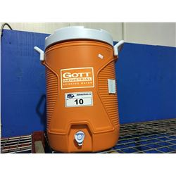 GOTT INDUSTRIAL DRINKING WATER SPORTS COOLER