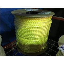 "SPOOL OF YELLOW ROPE 3/8"" X 630'"