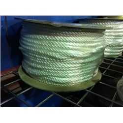 "ONE SPOOL OF NYLON ROPE 1/4"" X 600'"
