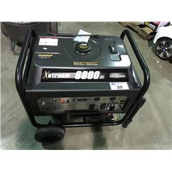 X -STREAM 6800 MAX WATT HONDA GENERATOR (NEW - KEY IN OFFICE)