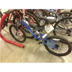 BLUE NEXT EDGE 5 SPEED FULL SUSPENSION KIDS BIKE