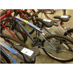 BLUE HUFFY RIVAL 21 SPEED FRONT SUSPENSION MOUNTAIN BIKE