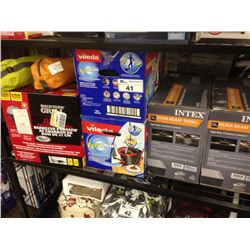 SHELF LOT OF ASSORTED SMALL APPLIANCES