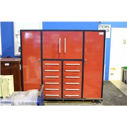 LARGE 12 DRAWER 4 DOOR TOOL CABINET