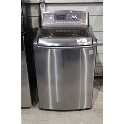 STAINLESS STEEL LG INVERTER DIRECT DRIVE TOP LOAD WASHING MACHINE