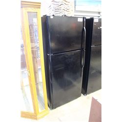 BLACK 2 DOOR FRIDGE