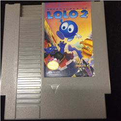 NINTENDO ADVENTURES OF LOLO 2 VIDEO GAME