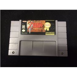 SUPER NINTENDO ZELDA VIDEO GAME