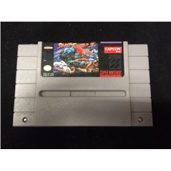 SUPER NINTENDO STREET FIGHTER 2 VIDEO GAME