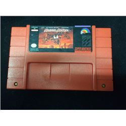 SUPER NINTENDO MAXIMUM CARNAGE VIDEO GAME